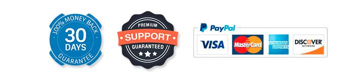 Salon Booking Plugin - 30 days money back guarantee