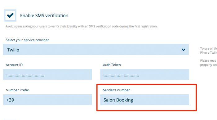 salon-booking-sender-number