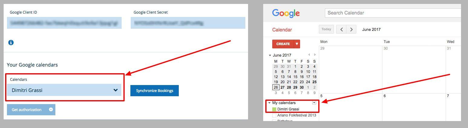 Google Calendar two ways sync