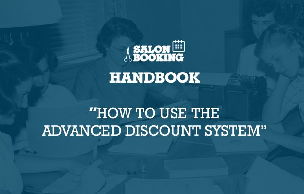 How to use Salon Booking Advanced Discount System