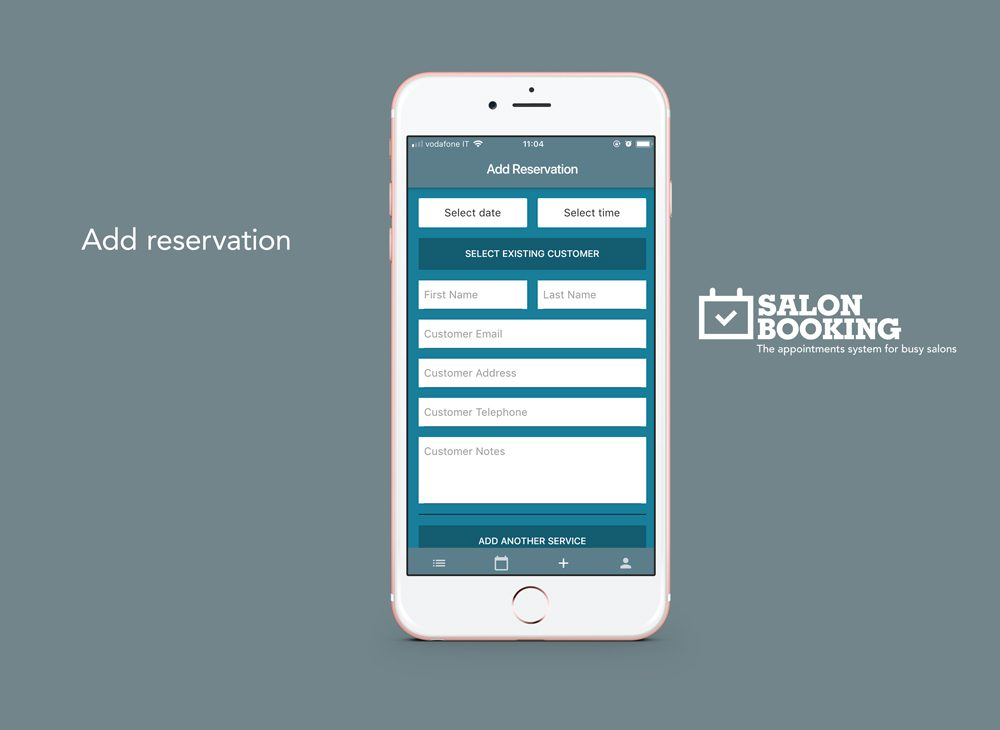 salon booking system mobile app