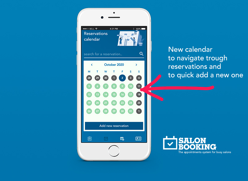 salon booking system mobile app improvements